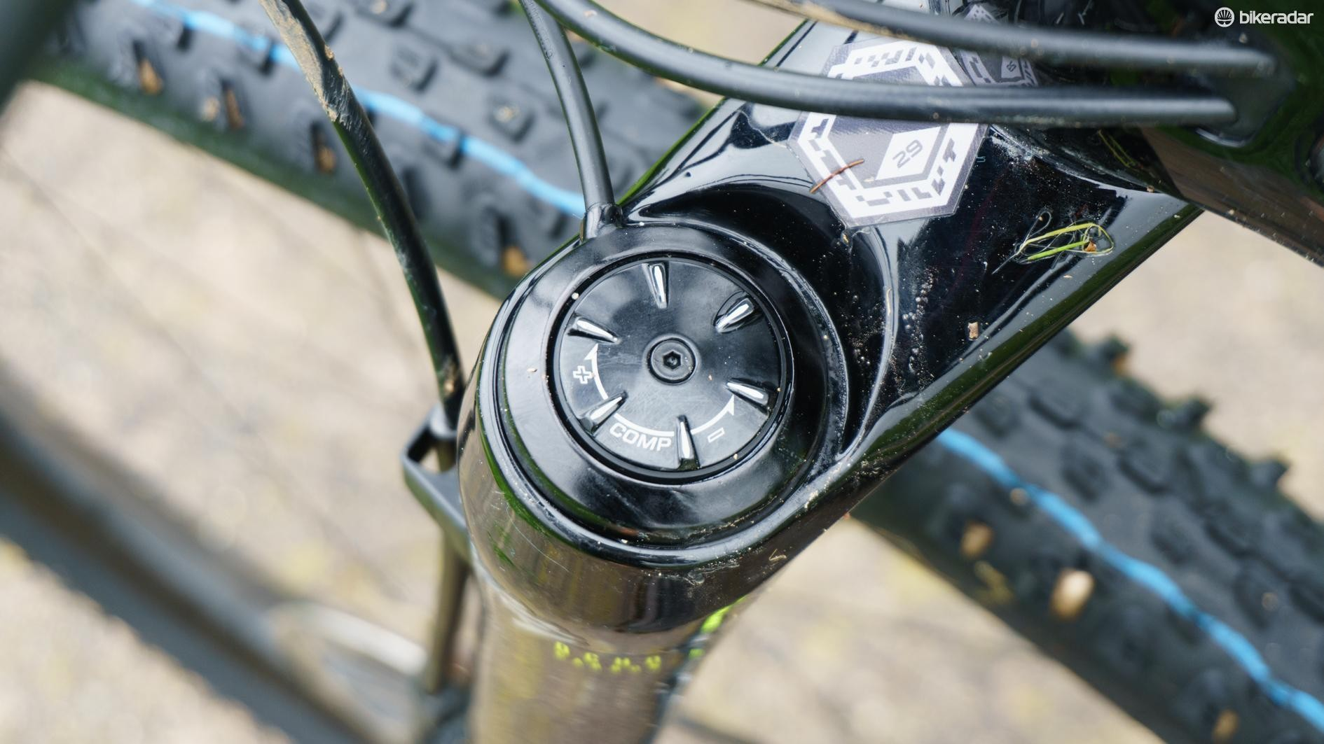 ...has been replaced by a pleasingly simple mechanical lockout