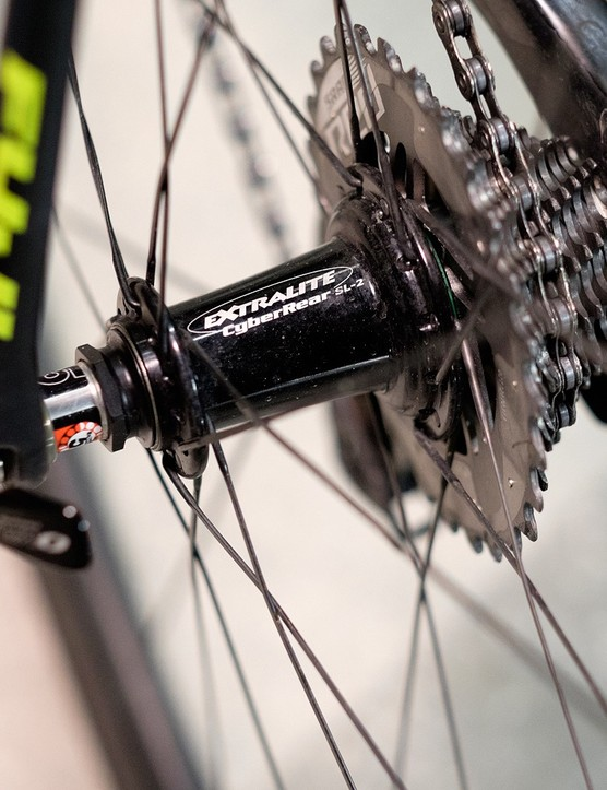 Silky smooth Extralite hubs