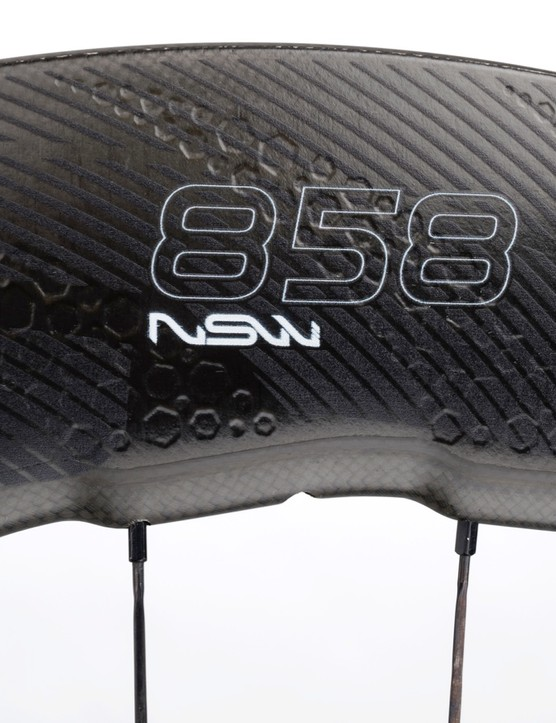 With braking handled at the rotor, Zipp engineers have a broader aero canvas with which to work