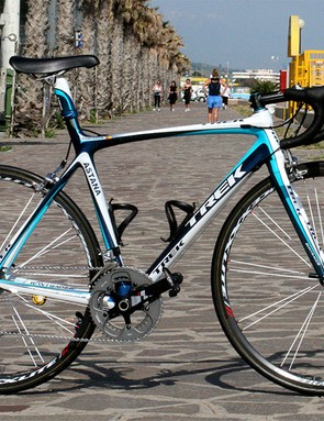 Alberto Contador's Trek Madone 5.2 is the latest evolution in the company's top range of bikes.