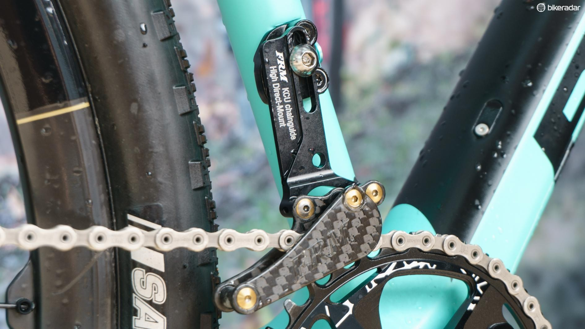 A chain guide is a very lightweight bit of insurance