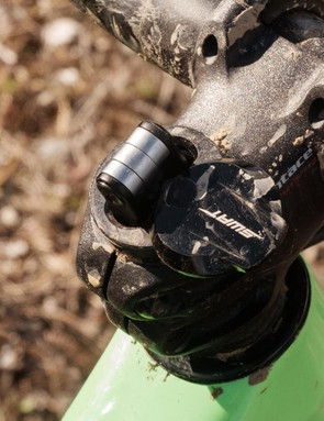 ...especially this nifty little multi-tool that's stored inside the steerer