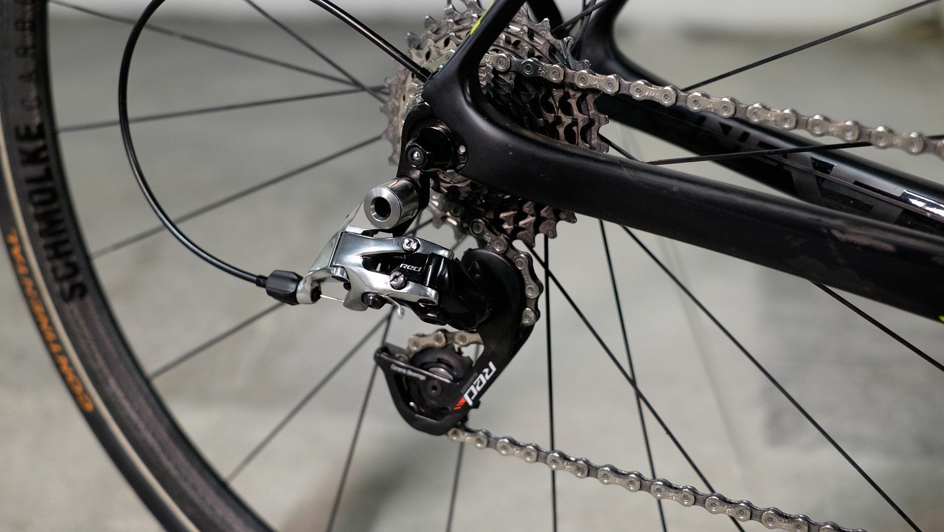SRAM's Red groupset saved a few grams