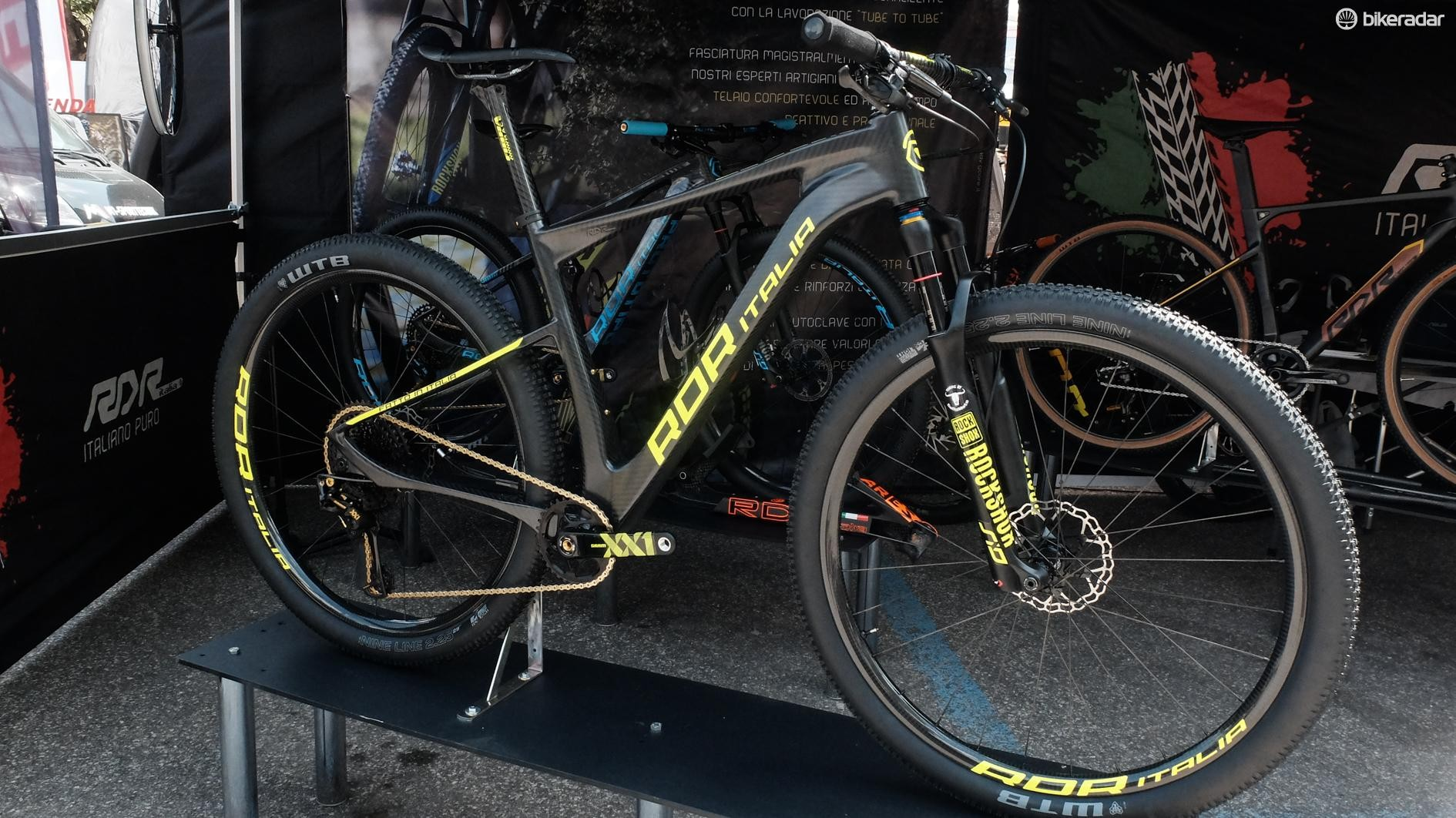 The brand also produces hardtails...