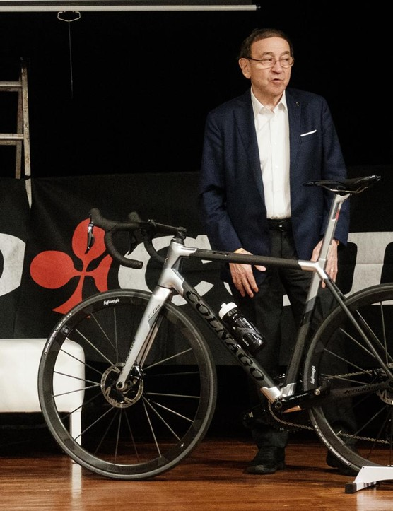 The man himself was on hand to talk us through the new bikes