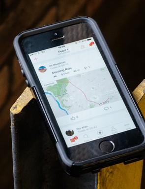Keeping tabs on your friends' riding habits is one of the main appeals of Strava