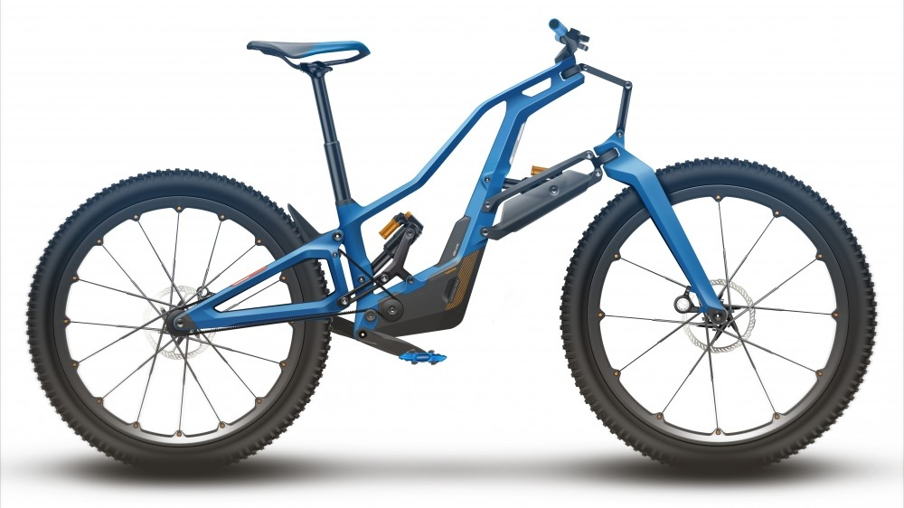 Mountain bike technology is moving at a staggering pace. This is what we think the bike the future could look like
