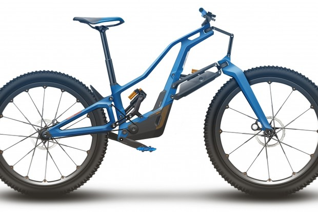 Mountain bike technology is moving at a staggering pace. This is what we think the bike of the future could look like