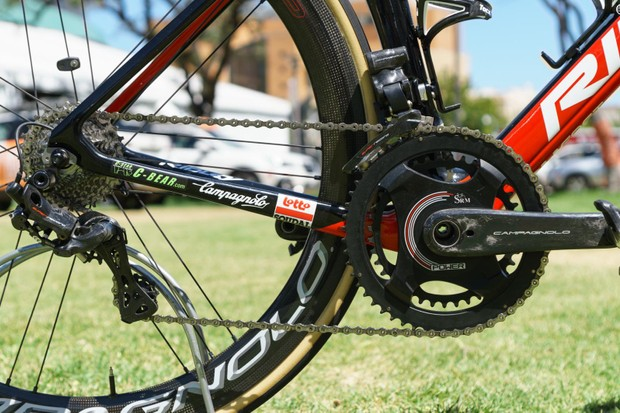 Campagnolo's Super Record 12-speed EPS groupset