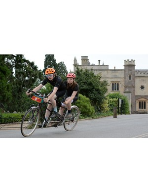 A tandem is an amazing way to get your loved ones out on the bike