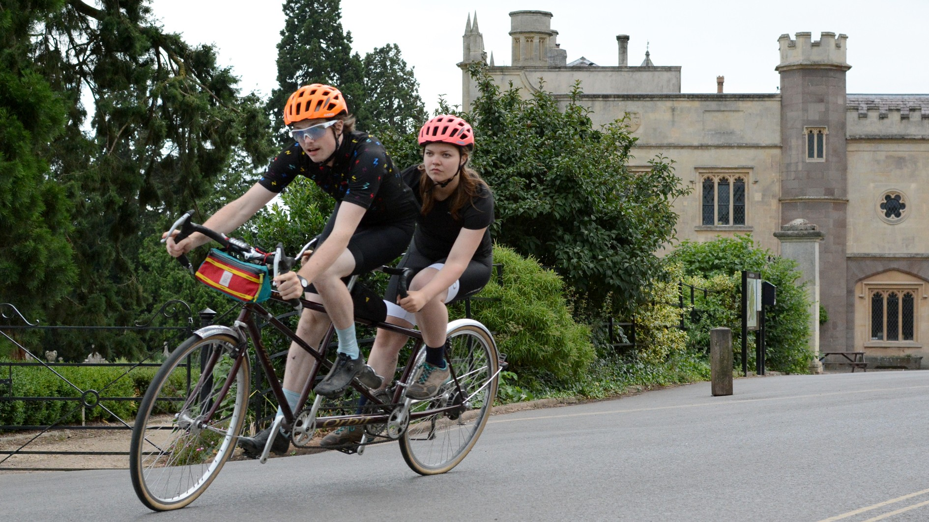 I've spent the last few months riding a tandem with my girlfriend, Laura and it's the most fun I've had on a bike in years