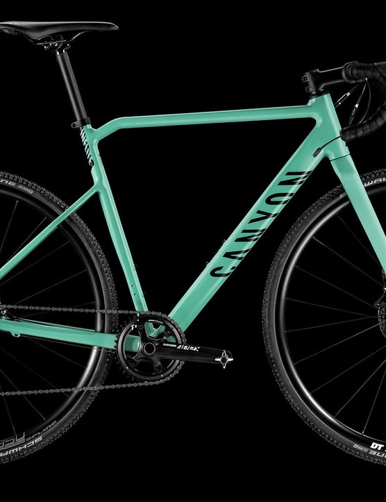 Canyon's new AL SLX looks like great value for money