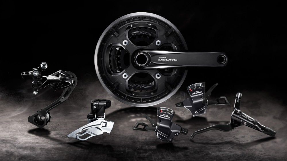 The Deore T6000 groupset features lots of trickle down tech from Shimano's higher-end parts