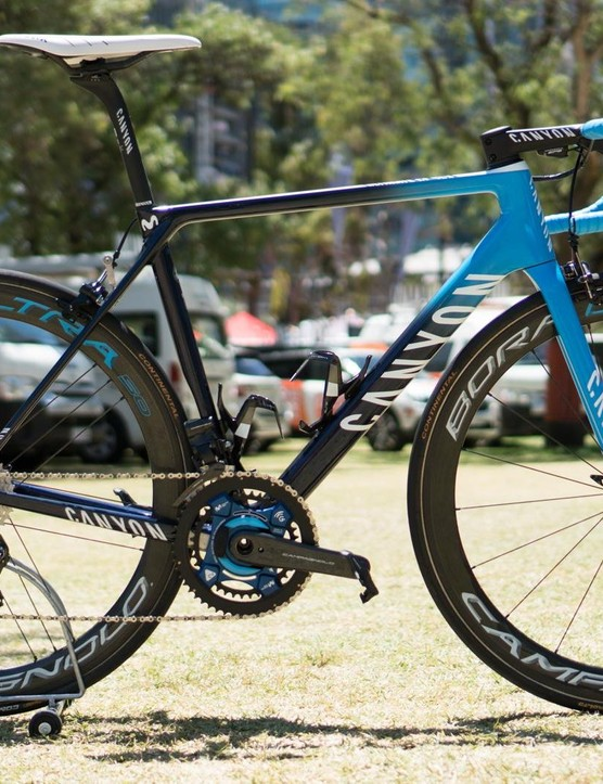 We took a look at Rafael Valls' Canyon Ultimate CF SLX in the run up to the Tour Down Under
