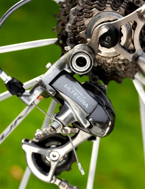 It's a kit list so exclusive the Ultegra groupset looks a little disappointing; this deserves Dura-Ace