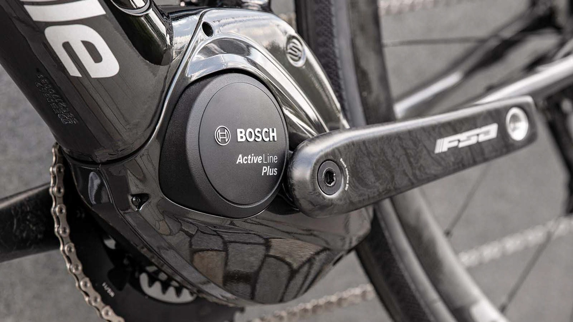 The bike is built around Bosch's Active Line Plus motor