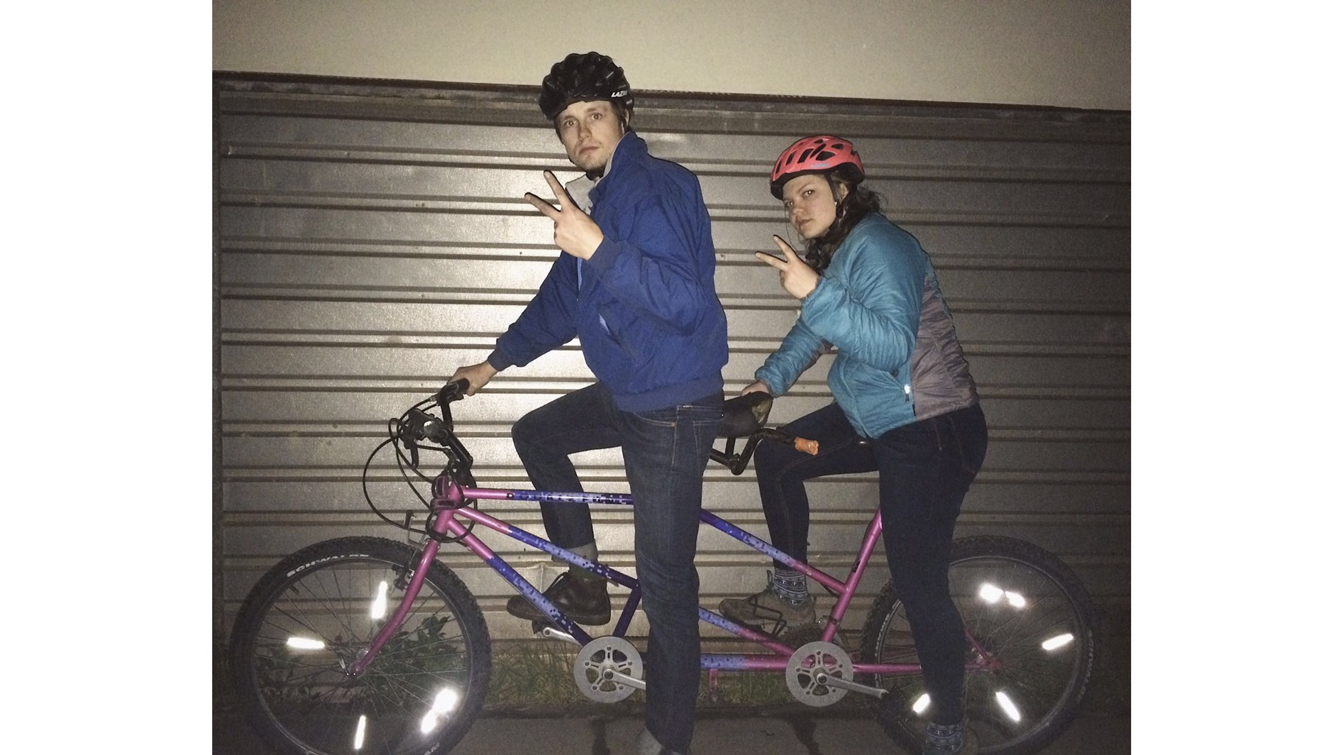 Our first tandem was possibly the worst bike I've ever ridden, but still so much fun
