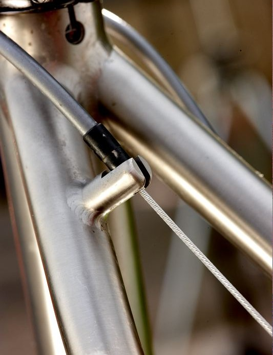 Don't expect to find fixing points for mudguards or racks.