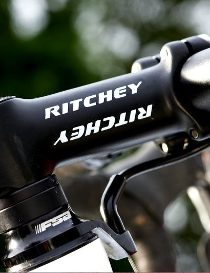 Finishing kit is good, with Ritchey's logo appearing in all the right places.