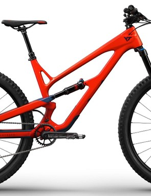 The Jeffsy CF Comp is the cheapest carbon model