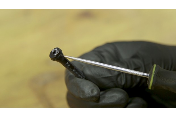 A tubeless valve is much like a regular Presta valve