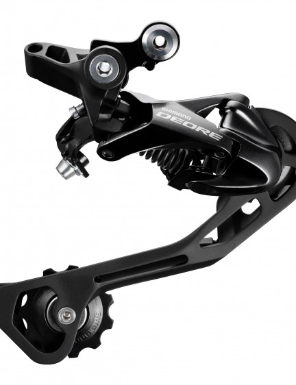 The rear mech has been updated and now uses the brands long-standing, low-profile Shadow design