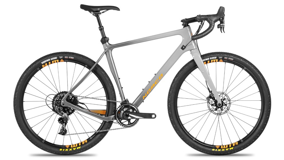 Gravel's gone MTB. Norco's top-end Search XR Force 1 features a dropper post, chainguide, and 27.5 x 2.1in tires