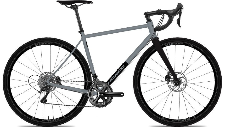 With a Shimano 105 drivetrain, disc brakes and a Reynolds 725 steel frame, the Search XR-S 105 is the starting build