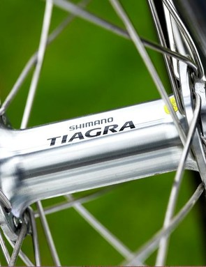 Shimano own-brand Pro wheels were comfortable and capable, especially laced to the proven Tiagra hubs.