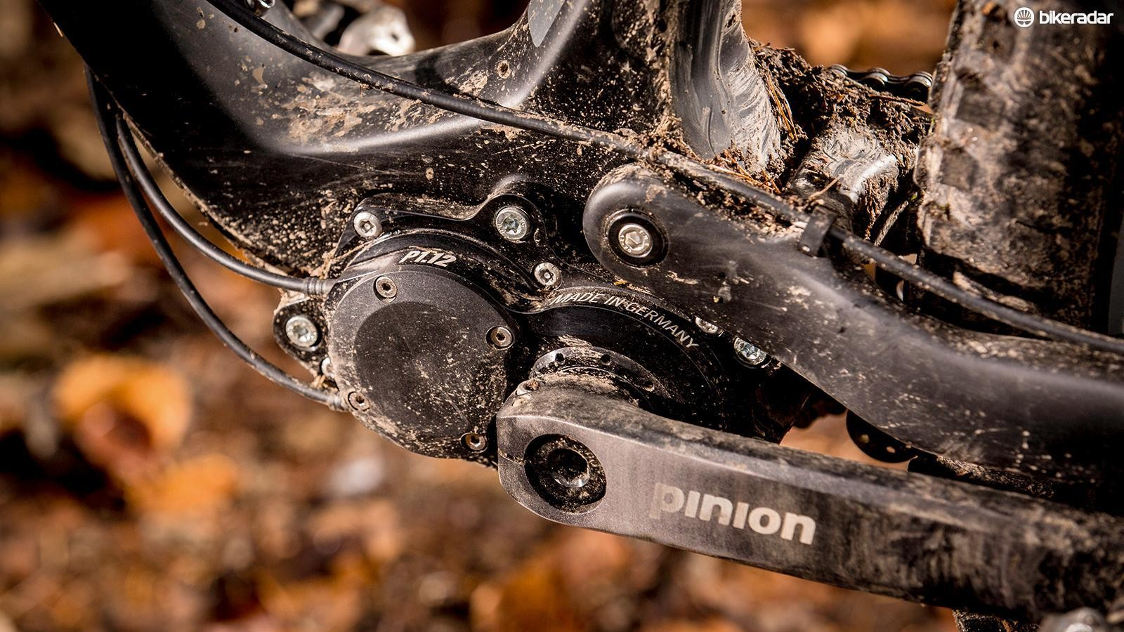 Pinion gearboxes have found a niche mainly on mountain bikes