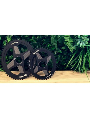 A full complement of chainrings will be available in both round and oval profiles