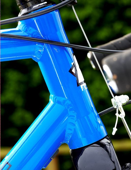 The 4t is its entry-level cyclocross frame and is aimed at beginners in the sport.