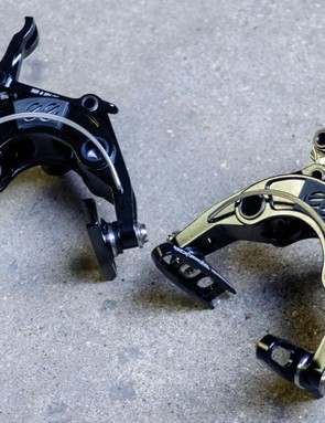 EE Cycleworks' brakes have a real love/hate aesthetic