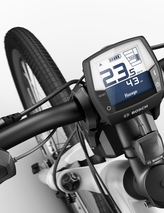The Bosch ABS system is hardly discreet but on an e-bike it really doesn't have to be