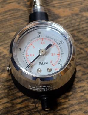 The gauge is built around super-high-quality internals