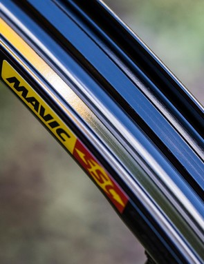 Mavic's UST rims have a totally sealed bed