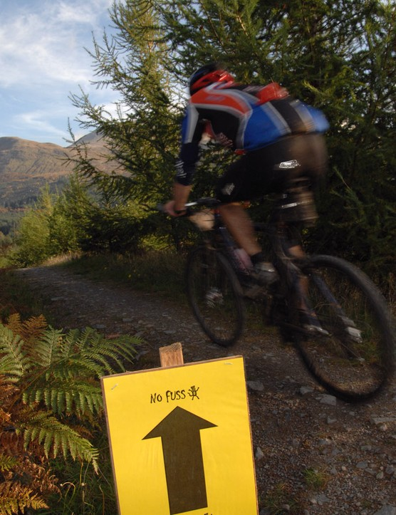 Competitors will get to experience part of the world cup mountain bike route.