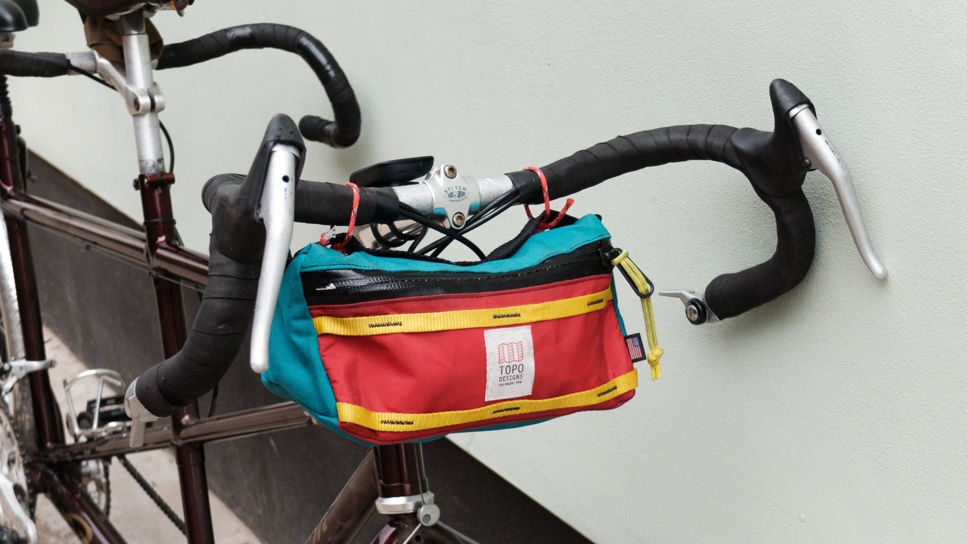 A hipster bag to complete a hipsterific cockpit