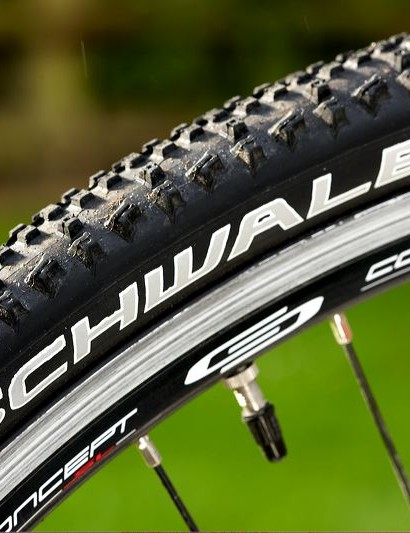 Better known as a mountain bike tyre, the Ralphs are nice and fat, with aggressive tread, and racers might like to know the tyre is also now available as a 'tub', though you'll need different wheels to glue it into.