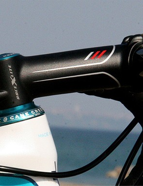 Cane Creek provides the team with a custom version of its excellent 110 headset.