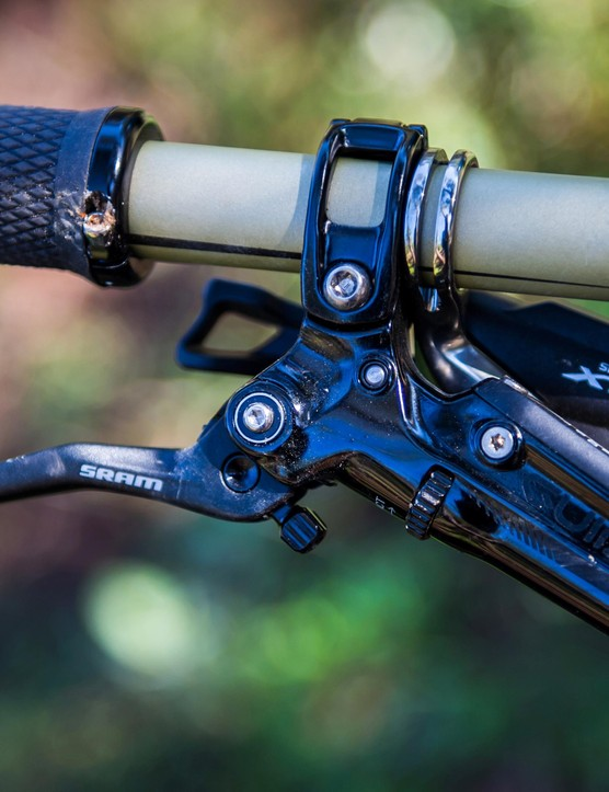 SRAM's Guide RSC brakes are powerful (though not as powerful as a Code)