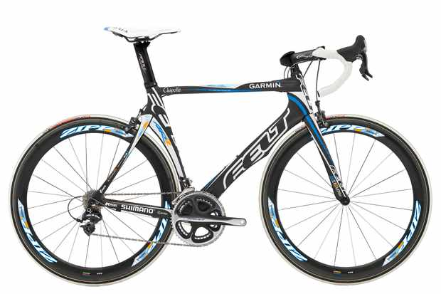 The Garmin-Chipotle Team Issue AR road bike.