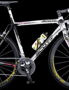 Riccardo Ricco's custom Scott Addict R1