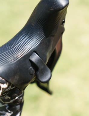 Campagnolo redesigned the hoods on the 12-speed groupsets