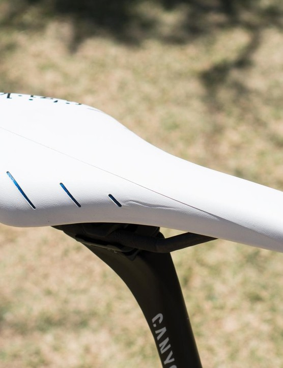 How long would your saddle stay this gleaming white?