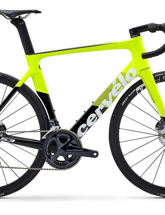 The new S3 Disc starts with an Ultegra build