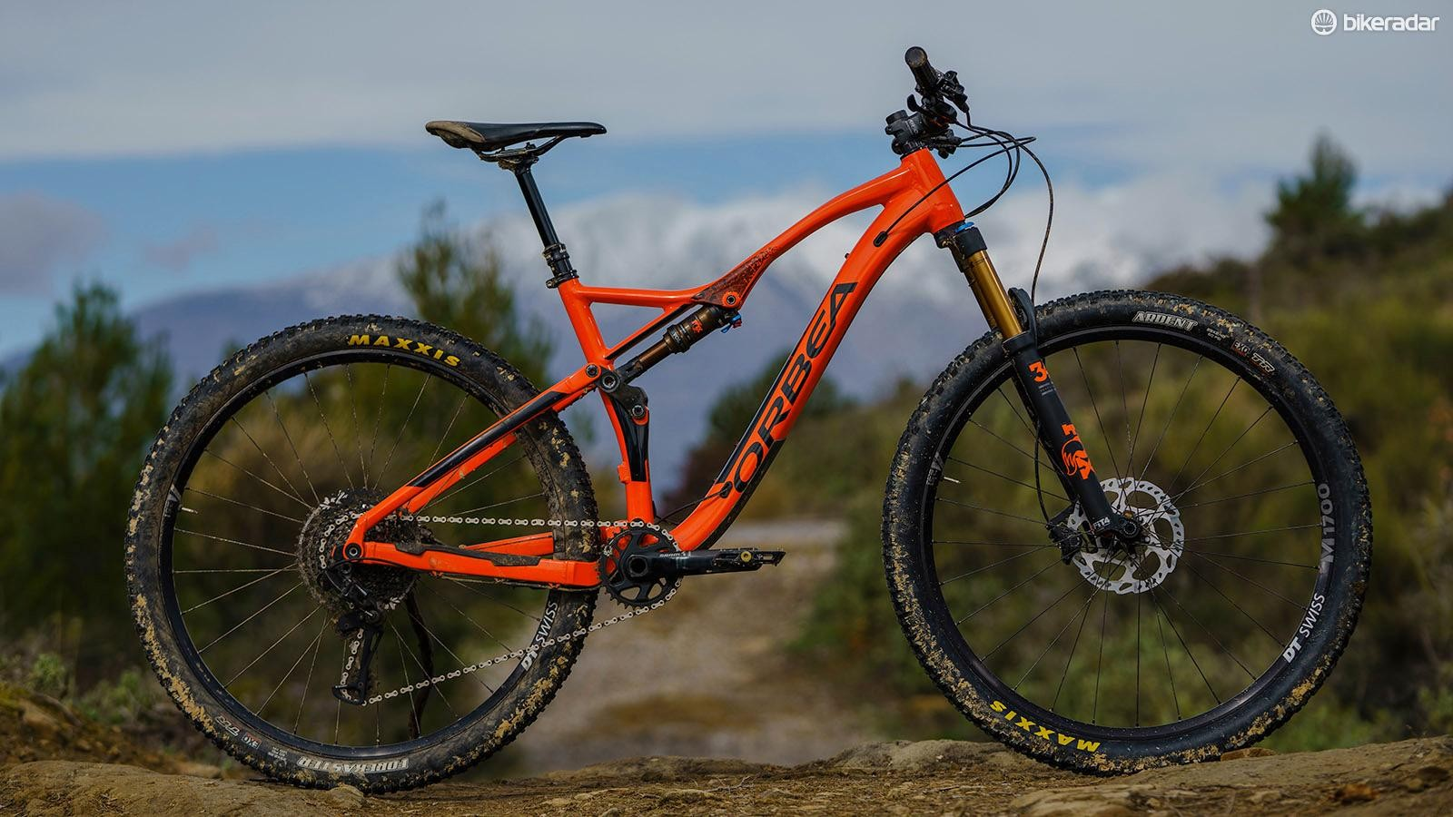 The Orbea Occam TR H10 is an alloy trail bike for long rides in the hills