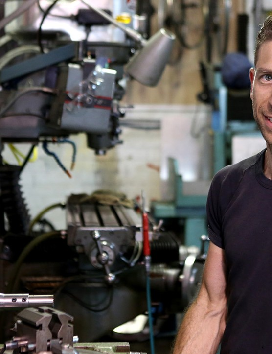 Jesse Geisler's 'Bike Bar' workshop in Fiztroy, Melbourne is not your average bike workshop. He says he humbled to have the likes of Ritze joining him