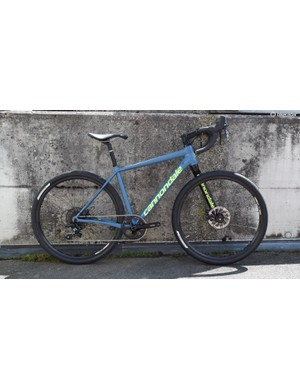 Cannondale's new entry-level version of the 650b Slate with a rigid Lefty fork and a new SRAM Apex 1x groupset