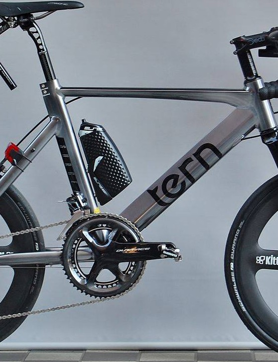 Tern posted this bizarre bike to its Facebook page earlier today